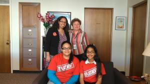 Our Queens team met with Assembly Member Markey's office.