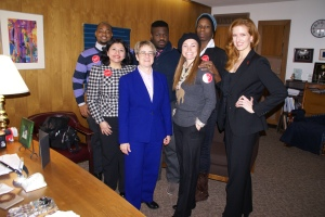 Our Manhattan met with NYS Assembly Member Deborah Glick