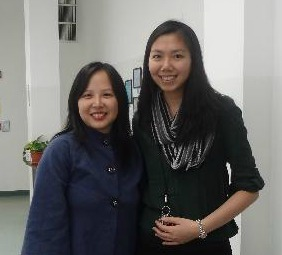 Panelist Dr. Mary Choy, Assistant Professor at Touro College of Pharmacyand Eunice Huang of CPC-Brooklyn Branch