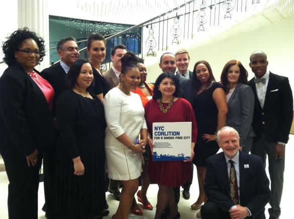 The NYC Coalition for a Smoke-Free City thanks everyone for joining us!