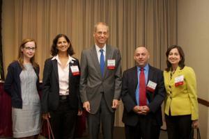 Veronica White, Sheelah Feinberg, Dr. Tom Farley, Sam Miller and Susan Kansagra