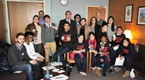 Manhattan youth and our Manhattan team talked with Assemblyman Robert Rodriguez.