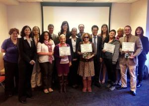 SHNNY members who worked with us on their efforts to go smoke-free.