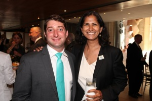 Michael Seilback of the American Lung Association of the Northeast and Sheelah Feinberg, Director of the Coalition